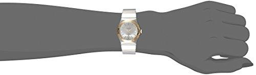 OMEGA Constellation Damen-Armbanduhr 27mm Armband Edelstahl Gehäuse + Batterie Analog 123.20.27.60.02.004 - 2