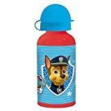 Paw Patrol La Patrulla Canina - Botella cantimplora aluminio 400 ml (Stor 80735)