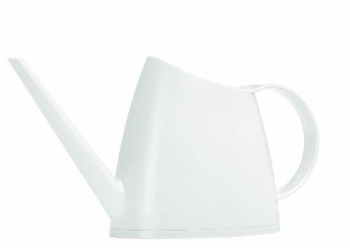 Emsa 572151200 Gießkanne, Matt, Volumen 1,5 Liter, Kunststoff, Weiß, Fuchsia