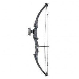 Compoundbogen Verbindung 55 lbs und 207 FPS Hellbow mit Visier, schwarze Farbe, ideal für die Jagd