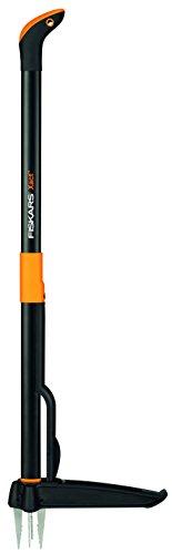 Fiskars Extractor de maleza, Longitud: 1 m, Negro/Naranja, Xact, 1020126