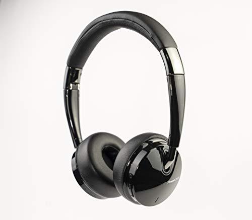PowerLocus Bluetooth-Kopfhörer kabellos On-Ear, [22 Stunden Spielzeit] HD Stereo & Tiefer Bass Faltbare Ohrhörer ohne Kabel und kabelgebundenes Headset,Mikrofon, Tragetasche für iPhone/Samsung/iPad