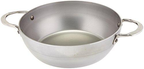 De Buyer 5654.24 Mineral B Elemento - Padella per Friggere in Ferro, 2 Manici, Diametro 24 cm