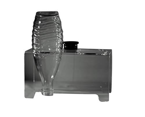 flexiPLEX bottleDRY Twin aus PLEXIGLAS® Abtropfhalter und Flaschenständer transparent für Glasflaschen