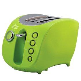 DCG Eltronic TA8690 tostapane 2 fetta/e Verde 880 W