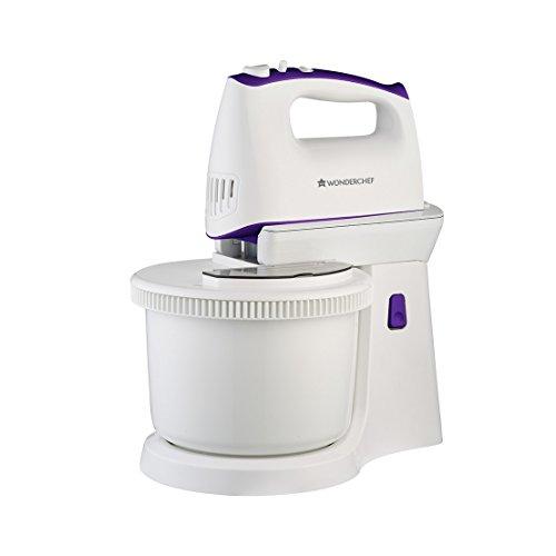 Wonderchef Regalia 400-Watt Stand Mixer (Violet/White)