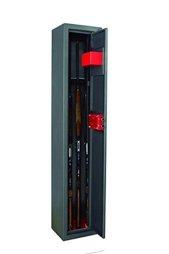 Arregui ARM030325 Armadio Portafucili a 3 Posti, Grigio Scuro