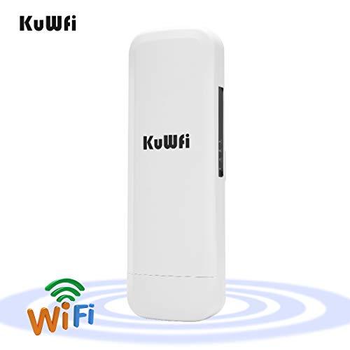 kuwfi 300Mbps Wireless Outdoor CPE con Wi-Fi Reapter lunga distanza del punto di accesso senza...