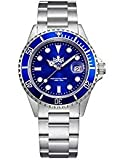 PHOIBOS 300M Diver Mens Watch Analog Quartz with Stainless Steel Bracelet PX002B