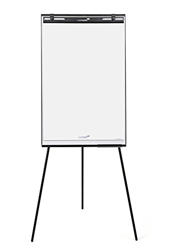 Legamaster Flipchart Basic Triangle, 74x 79cm superficie di fondo, 9kg, 68x 105cm, colore:...