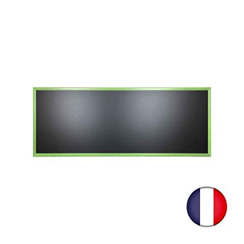 Interfaccia PLV in Ardesia da Parete in Legno, Colore Verde, Dimensioni 166 x 66 cm, Fabbricazione...