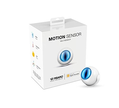 Capteur-Triple--Mouvementlumiretemprature--Sans-FilBluetooth--Compatible-avec-Apple-HomeKit--Antenne-interne--1-pile-cR123-A-30-V