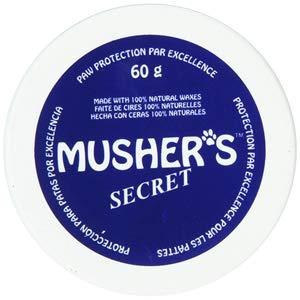 Mushers ZX117 60 - Protection con Ceras para Patas de Mascota, 60 g, Azul
