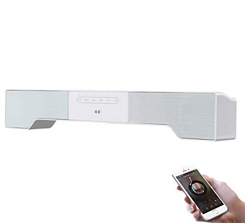 Soundbar Altoparlanti Home Cinema Bluetooth cablati e Wireless Audio Stereo Supporto 3.5 mm Ingresso...