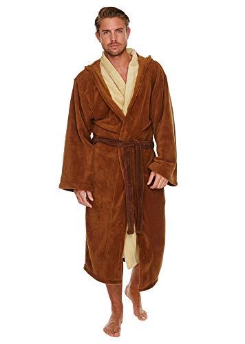 Peignoir chaud Star Wars style Jedi, Polaire, brown-beige, Standard
