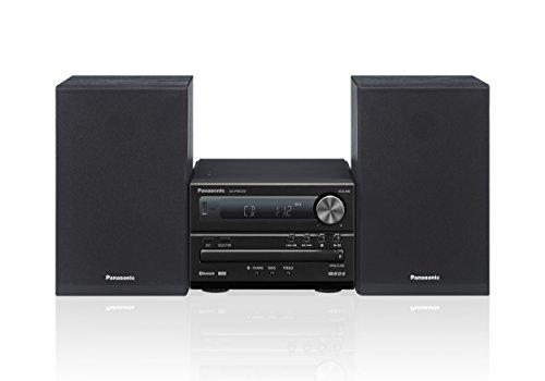 Panasonic SC-PM250EG-K Micro-Anlage mit HiFi-System (Bluetooth, CD, UKW Radio, 20 W RMS) schwarz