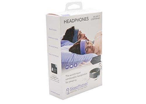 AcousticSheep souple, FIN sleepp Smartphones Classic Breeze Polyester-Bandeau avec écouteurs intégrés pour Smartphone et Tablette 29