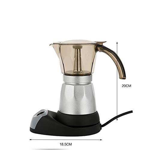 Macchina Da Caffè, Caffè Espresso Macchina Webla Moka Caffè In Alluminio 480W Per La Pulizia E...