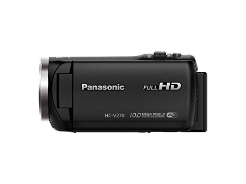 Panasonic HC-V270 Super Zoom Full HD Camcorder with Built-in WiFi