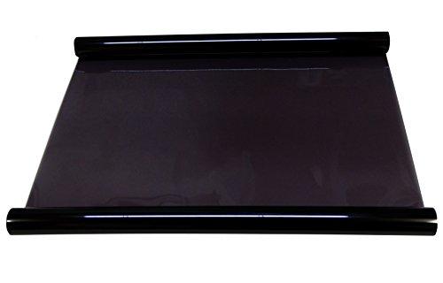 AERZETIX - Película adhesiva para tintar ventanas (apto para lunas, ventanas, velux), color negro
