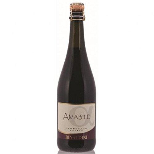 Rinaldini - Emilia Lambrusco Rosso Amabile Igt, 750 ml