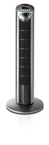 Taurus Babel RC - Ventilador de torre con control remoto, color gris