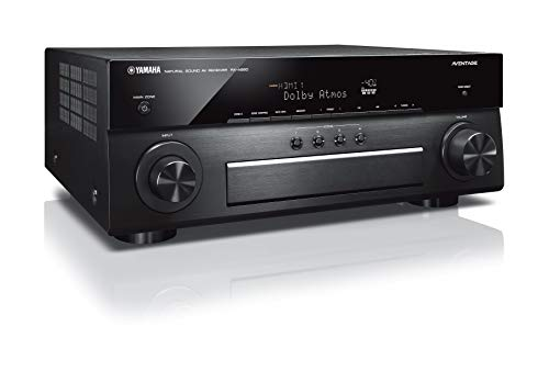 Yamaha Aventage Xx-A880 7.2-CH 4K Ultra HD AV Receiver With HDR, Dolby Vision, Dolby Atmos, Wi-Fi, Phono, Ypao And Musiccast. Compatible with Alexa