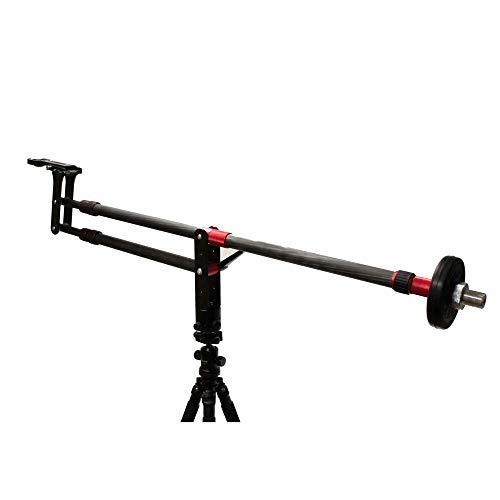 Cablematic-Gru a la fotografia reflex digitale e della video DV estendibile fino a 110cm pieghevole Fibre di