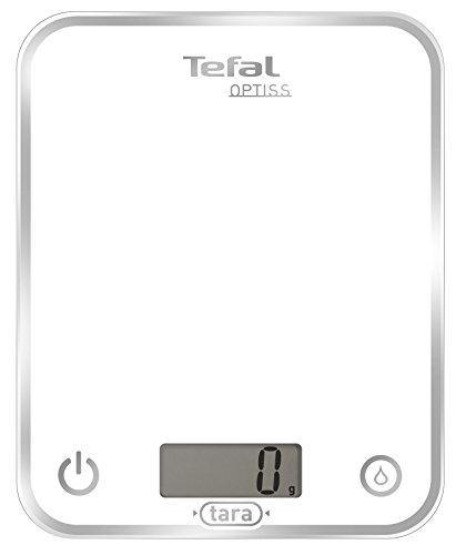 Tefal Optiss BC5000, Acciaio, Bianco
