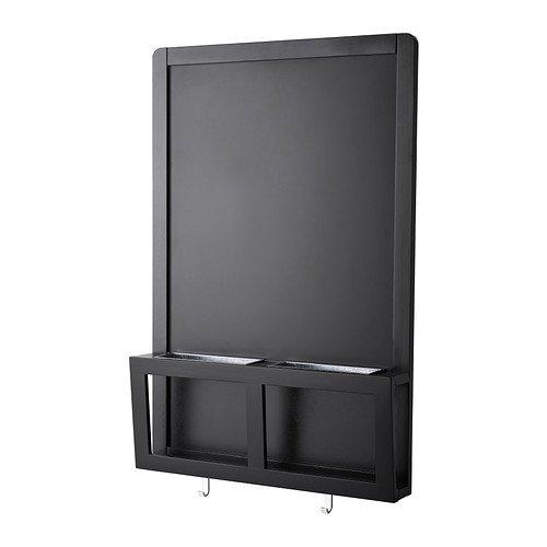 IKEA LUN-lettera/lavagnetta magnetica, Nero-48x 71cm