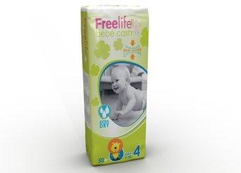 Baby Pannolini-bbcash freelife-Maxi 4(7-18kg)-PZN 02832934-(100pezzi).
