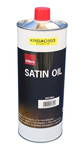 KÄHRS Satin Oil - Olio per la cura di pavimenti a olio, 1 L