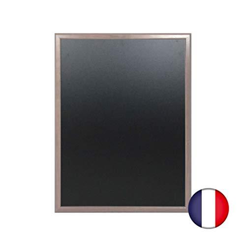 Lavagna da parete in legno colore tortora dimensioni 86 x 66 cm - Fabbricazione francese