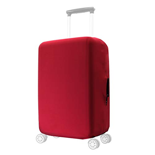 kwmobile Coprivaligia con cerniera - Fodera copertura protettiva copri valigia trolley -...