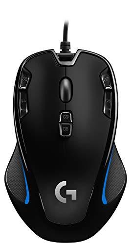 Logitech G300s Mouse Ottico per Videogiochi, Nero
