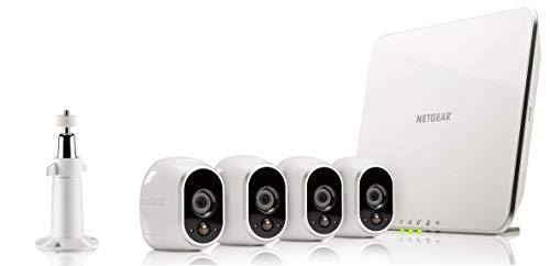312Lq6UUdYL [Bon Arlo !  Arlo - Smart Caméra de surveillance - Pack de 4 - Kit de Surveillance 100% sans Fil, HD, Vision Nocturne, Etanches ...
