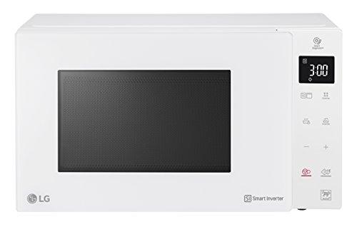 LG MH6535GIH Over the range – Microondas (Over the range, Microondas combinado, 25 L, 1000 W, Tocar, Color blanco)