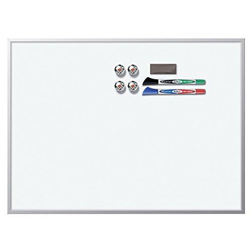 Rexel - Lavagna Magnetica 430 x 585mm Cancellabile a Secco, Bianco