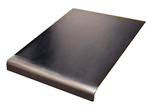 Piano di lavoro in acciaio inox per tagliare, Piatto o rotondo, diverse misure e prezzi, con piedini in gomma antiscivolo, Acciaio INOX, argento, 500 x 500 round Fold