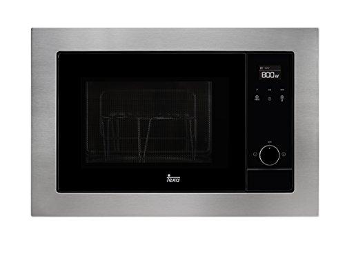 Teka MS 620 BIS – Microondas con grill, 1100 W, color gris