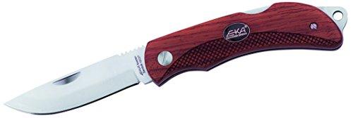 Eka Messer Swede 8 Taschenmesser, 12C27-Stahl, Bubinga-Holz, inkl. Scheide 250711