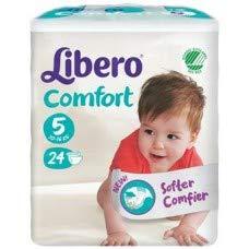 LIBERO COMFORT 5 PANN 10-16 KG 24 PEZZI