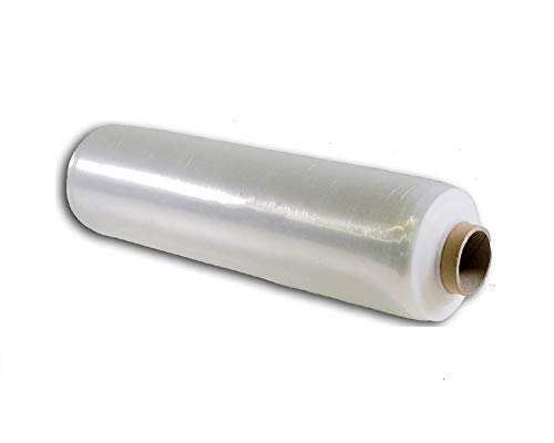 Palucart 1 rotolo Pellicola Film estensibile manuale trasparente spessore 23 my, 2,2 Kg, altezza 500 mm
