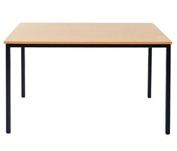 Schreibtisch-Braila-Konferenztisch-Brotisch-Seminartisch-120x80cm-Buche-Optik