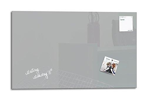 Smartglassboard lavagna magnetica 78x 48cm finestra, grigio, vetro/lavagnetta/lavagna magnetica...