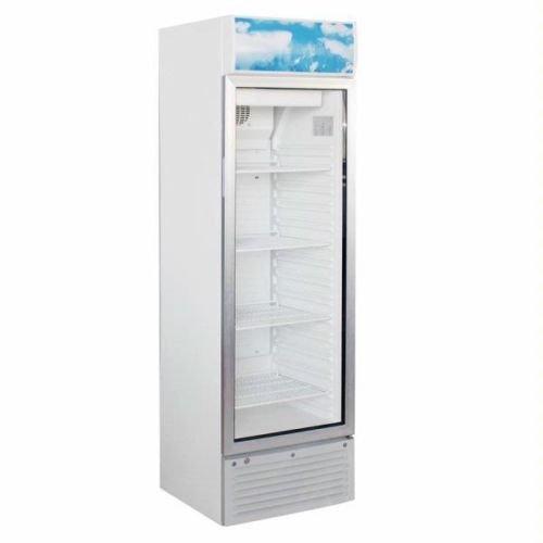 To check- Espositore Armadio Refrigerato Con Porta A Vetro Snack 251Sc