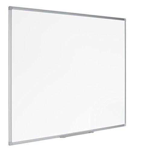 Bi-Office Lavagna non Magnetica Cancellabile a Secco Earth-It, 120 x 90 cm, Bianco