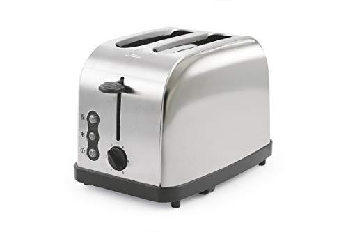 Kooper 2192347 tostapane 900 w Cromato Toasty Cromo, Argento