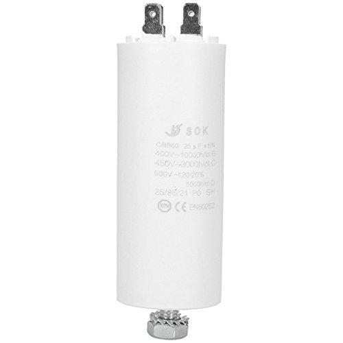 WESSPER Universale microfarad Start Laufen Motor condensatore frigoriferi lavastoviglie Teka 25uF...