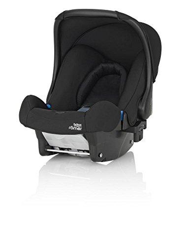 Britax Römer Baby-Safe, Babyschale Gruppe 0+ (Geburt - 13 kg), Kollektion 2019, cosmos black